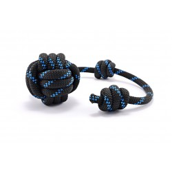 Dog fetch toy Tamer black/blue large
