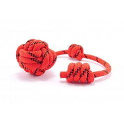 Dog fetch toy Tamer red/black large