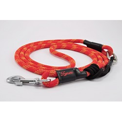 Dog leash Tamer red/yellow with sliding system 8-50 Kg
