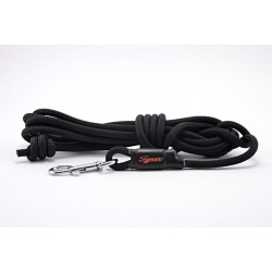 Tracking leash Tamer black 7 m