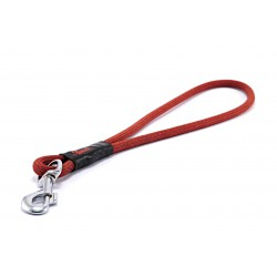 Pull tab leash Tamer red/khaki