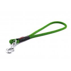Pull tab leash Tamer black/green