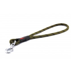 Pull tab leash Tamer green/black