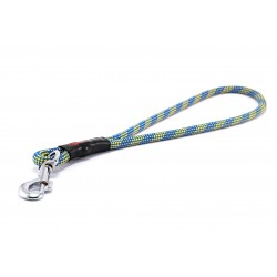 Pull tab leash Tamer yellow/blue