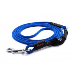 Dog leash Tamer blue with sliding system 4-20 Kg