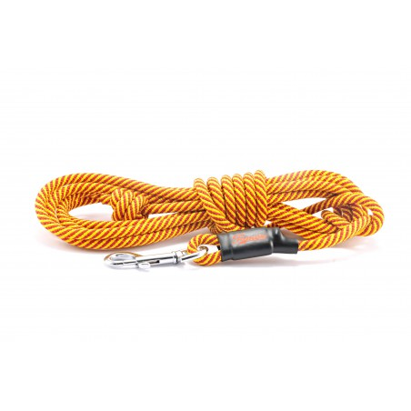 Tracking leash Tamer yellow/red 7 m