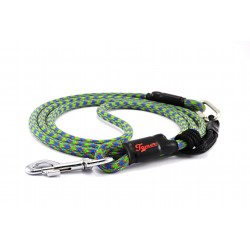 Dog leash Tamer blue/green/red with sliding system 8-50 Kg