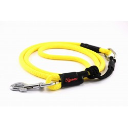 Dog leash Tamer yellow with sliding system 8-50 Kg