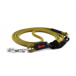 Dog leash Tamer green/black/red with sliding system 8-50 Kg