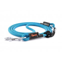 Dog leash Tamer turquoise with sliding system 8-50 Kg