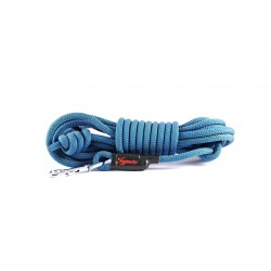 Tracking leash Tamer blue/khaki 7 m