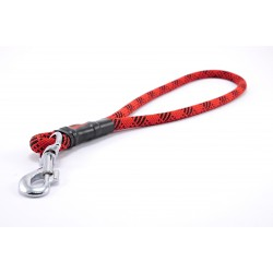 Pull tab leash Tamer red/black