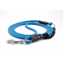 Dog leash Tamer light blue with sliding system 8-50 Kg