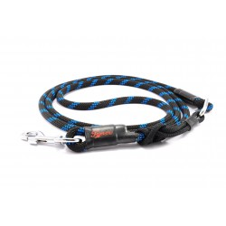 Dog leash Tamer black/blue with sliding system 8-50 Kg