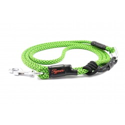 Dog leash Tamer black/green with sliding system 8-50 Kg