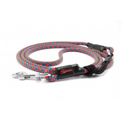 Dog leash Tamer red/blue/green with sliding system 8-50 Kg