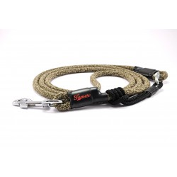 Dog leash Tamer light khaki with sliding system 8-50 Kg