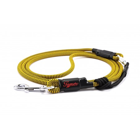 Dog leash Tamer yellow/purple with sliding system 4-20 Kg