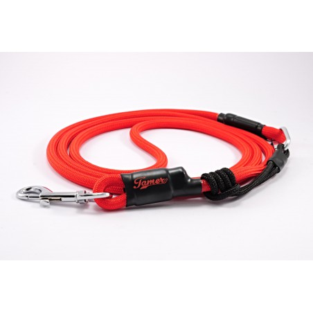 Dog leash Tamer red with sliding system 4-20 Kg