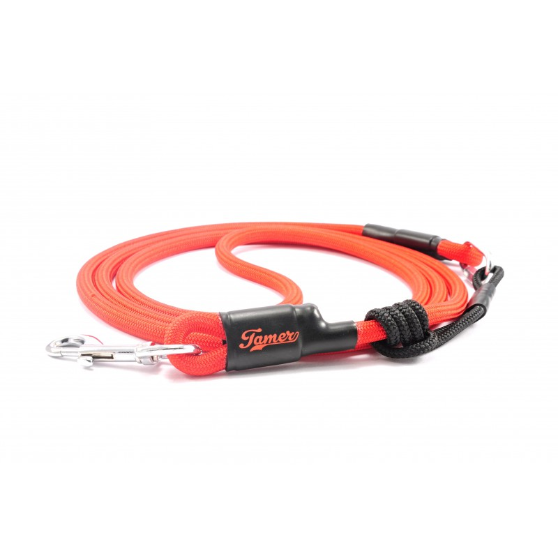Dog leash Tamer red with sliding system 8-50 Kg