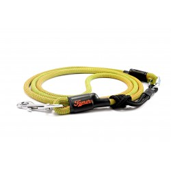 Dog leash Tamer green/red with sliding system 8-50 Kg