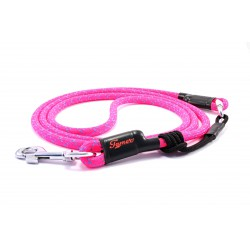 Dog leash Tamer pink with sliding system 8-50 Kg